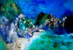Capri. Italy. 50x70 cm, oil on canvas, 2013