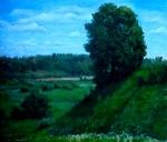 Summer 45x40 cm, oil on canvas, 2012.