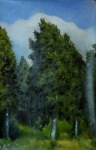 Tree 35x55 cm, oil on canvas, 2011.