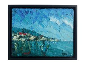 24x30 cm, oil on canvas, 2013. Framed.