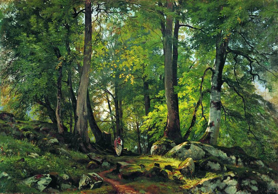 Famous Forest Paintings Landscape painter closelyFamous Forest Paintings