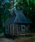 A Forest Church 50x60 cm, oil on canvas, 2012. Price: $1700