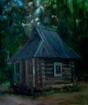 A Forest Church 50x60 cm, oil on canvas, 2012.