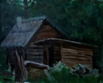 An Old Hut 40x50 cm, oil on canvas, 2012. Price: $500