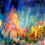 Autumn 60x60 cm, oil on canvas, 2012. Price: $1500