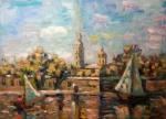 Saint-Petersburg, 2013. oil on canvas, 50x70cm.