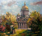 Saint-Petersburg, 2013. oil on canvas, 67x57cm.